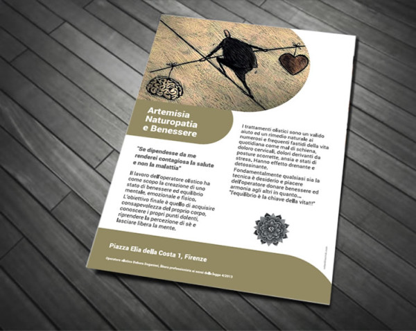 Volantino Naturopatia